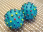 Cool Crazy Color Rubber Ball Makes Sound 4,8 inch
