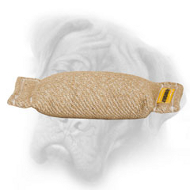 Pocket Lightweight Jute Bite Tug for Bullmastiff Puppy Training