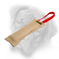 Puppy Bullmastiff Jute Bite Tug Made with Care for Your Pet
