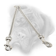 Herm Sprenger Bullmastiff Chain Coupler for Walking 2 Dogs