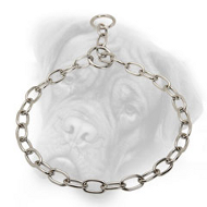 Superior Chrome Plated Bullmastiff Fur Saver - 1/7 inch (3.4 mm)
