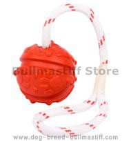 Pull And Tug Rubber Toy for Bullmastiff Breed