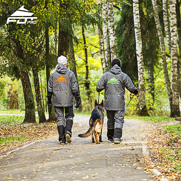 FDT Professional Dog Trainer Jacket of Quality for Everyday Activities