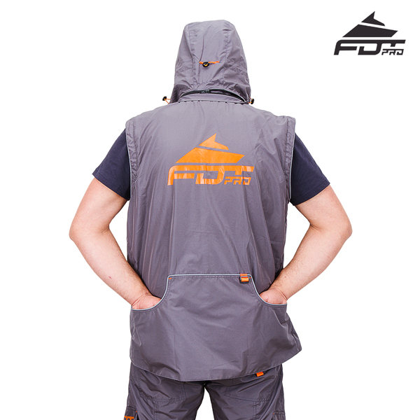 FDT Pro Dog Training Jacket with Side Pockets for your Convenience