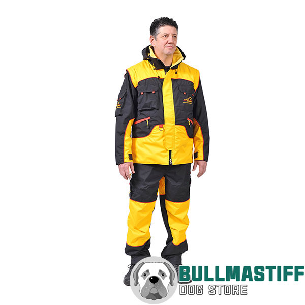 Pro Dog Training Suit of Waterproof Membrane Material
