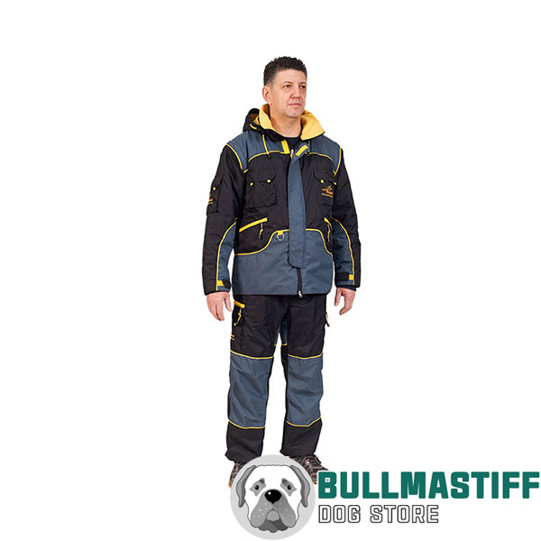 Weatherproof Protection Dog Bite Suit for Safe Training