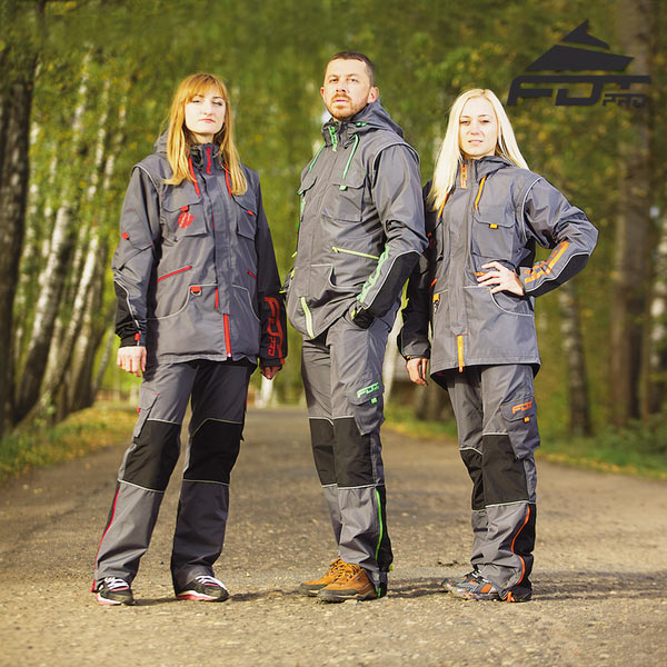 Top Notch Dog Training Suit for All Weather Conditions