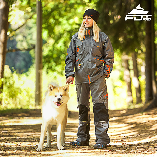 Unisex Design Dog Tracking Jacket of Finest Quality Materials