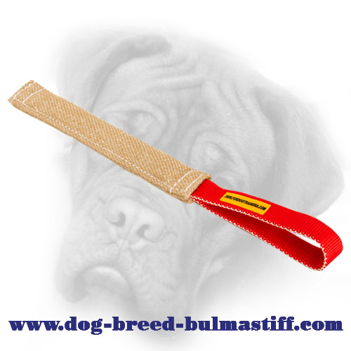Jute Bullmastiff pocket toy
