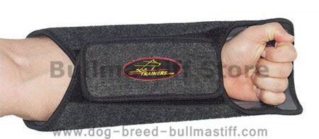 Customize Padded Gauntlet-Working Dogs Gauntlet for  Bullmastiff