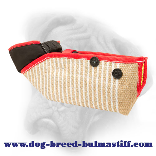 Jute Bullmastiff Bite Sleeve for Safe and Effective Training