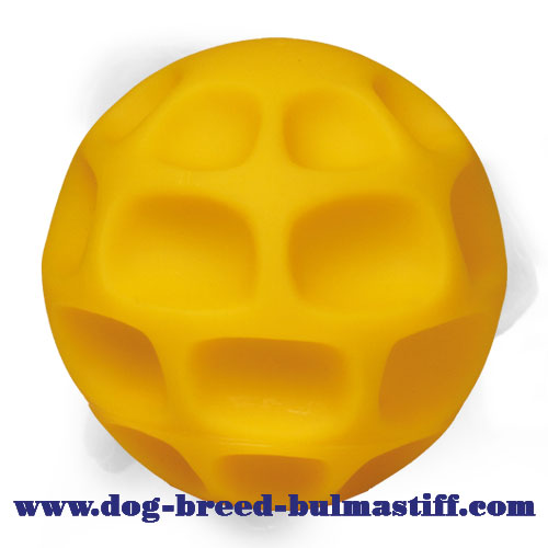 Large Fantastic Treat Dispensing Bullmastiff Ball