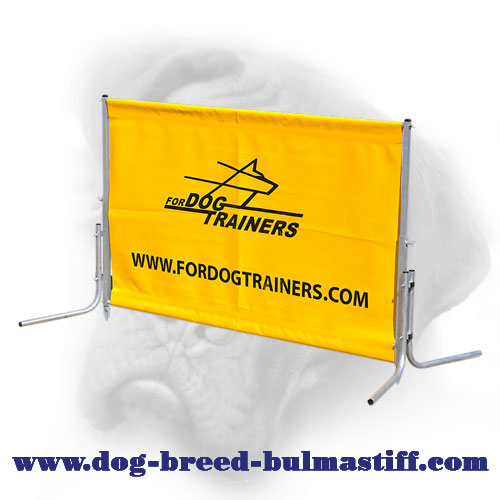 New Polymer Bullmastiff Barrier for Training