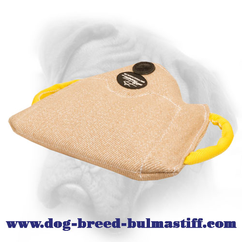 Efficient Jute Bullmastiff Bite Builder for Puppy and Young Dog Training