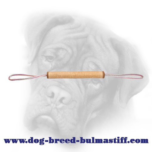 Reliable Jute Roll for Bullmastiff Puppy Bite Training