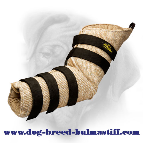 Top Quality Hidden Jute Bite Sleeve For Bullmastiff Agitation/Protection Work