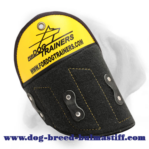 "Quality ""Super Shield"" Bullmastiff Shoulder Protector for Professioanl Training"
