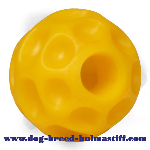 Small Safe Tetraflex Treat Dispensing Bullmastiff Ball