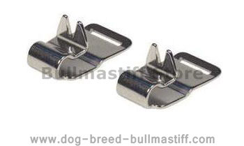 STAINLESS STEEL NECK TECH PRONG COLLAR Links for  Bullmastiff