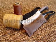 Dog Leather Bite Tug with Handle for Bullmastiff